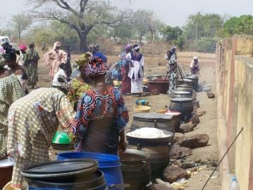 comunidad africa escasez de alimentos