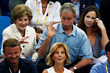 el pedo de Bush en los olimpicos