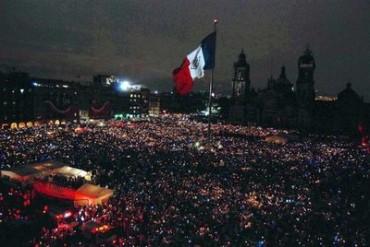 Más de 80 mil personas se congregaron en el zócalo