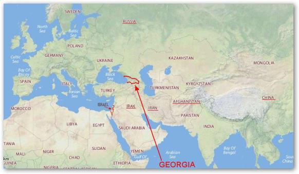 Ubicación geográfica de Georgia