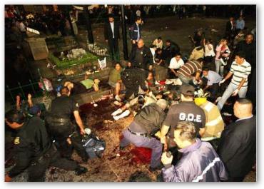 muertos y heridos en la plaza Melchor Ocampo de Morelia