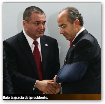 El Secretario de Seguridad de Calderón