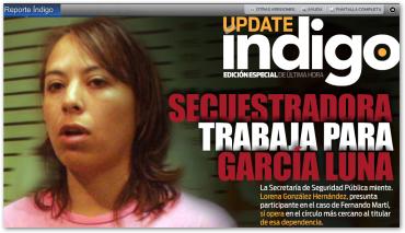 ¿por qué el subsecretario niega que Lorena González Hernández trabaja en la PFP si estaba bajo sus órdenes?