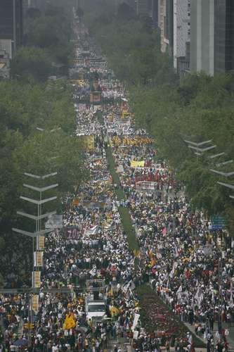 Marcha en Defensa del Petróleo