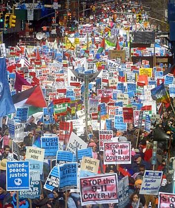 Manifestaciones para que se sepa la verdad sobre los atentados