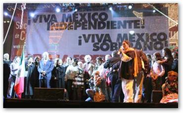 ¡Viva México! el grito de los patriotas