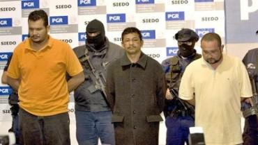 Los 3 capturados y presuntos rewsponsables