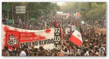 2 de octubre, marchas en varios estados para conmemorar la masacre