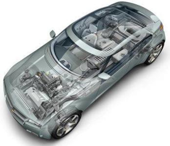 Potencial. 'Volt' será un auto capaz de viajar hasta 64 kilómetros, gracias al impulso de sus baterias de tipo ion-litio. Luego se activaria la gasolina