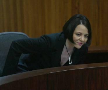 La presidenta del TEPJF, María del Carmen Alanís, es la encargada de manejar el prespuesto del tribunal. Foto Carlos Cisneros