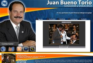 Juan Bueno Torio, Senador por el PAN