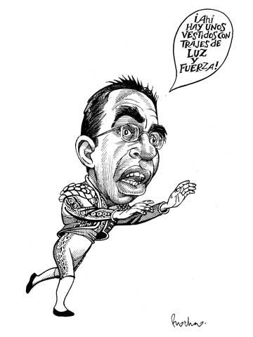 """""""Graciosa huida"""" (Rocha, La Jornada)"""