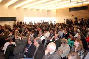 Al encuentro asistieron el presidente del Colegio de México, Javier Garcíadiego Dantán, el cineasta y Luis Mandoki, entre otras personalidades.