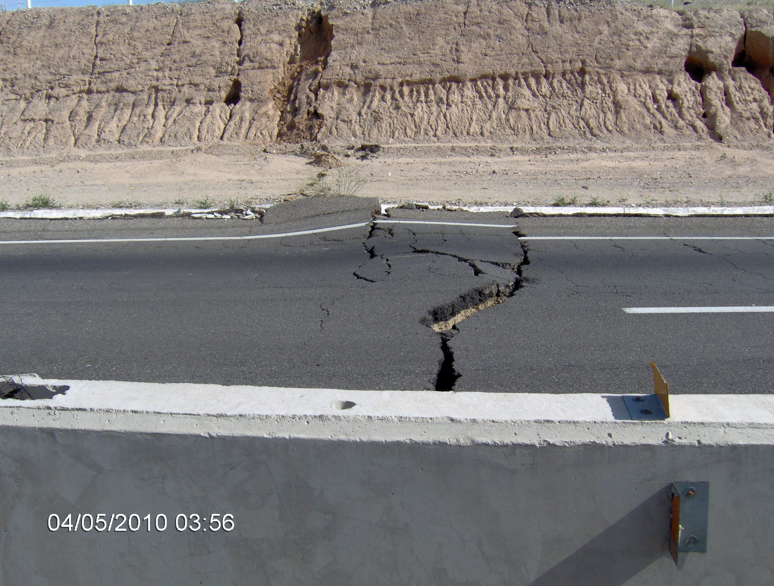 Imágenes inéditas del sismo en Baja California | La Poca ...
