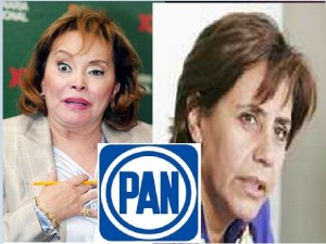 Luisa Ma. Calderón candidata del partido de la sra. Gordillo