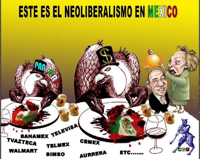 Resultado de imagen para apuesta por la globalizacion Neoliberal