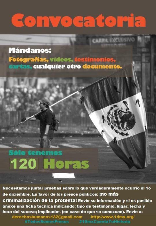 petición yosoy132 presos politicos