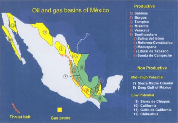 gas y petroleo frackimg