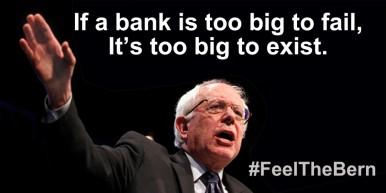 Si un banco es demasiado grande para quebrar, es demasiado grande para existir. (imágen Tomada de El Viejo Topo)