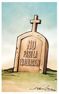 Epitafio. Cartón de Hernández (La Jornada)